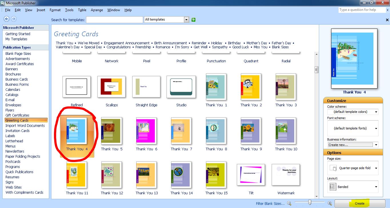 Membuat Kad Menggunakan Microsoft Publisher Infotech Computer Centre