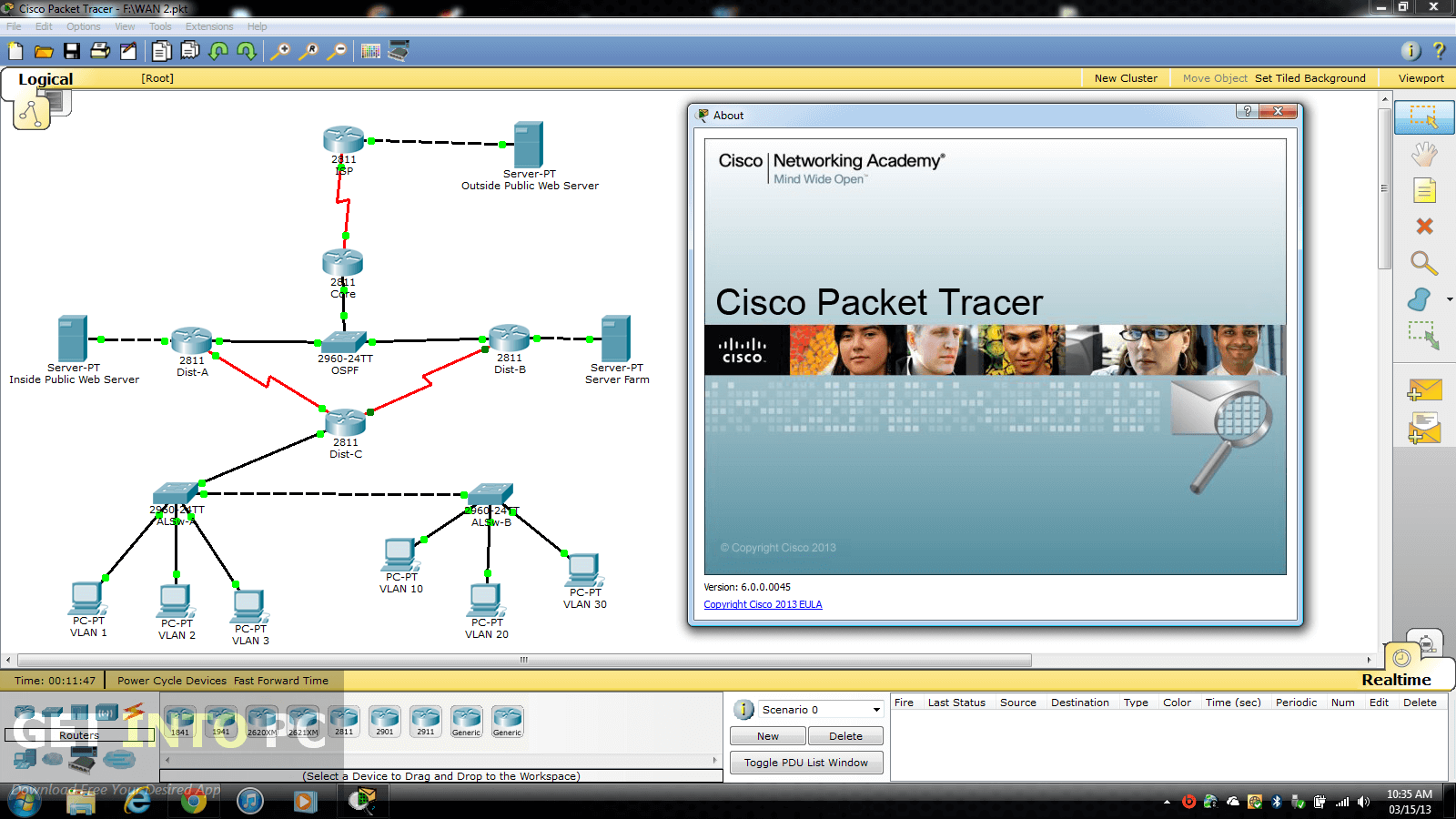 What is Cisco Packet Tracer ?   Infotech Computer Centre